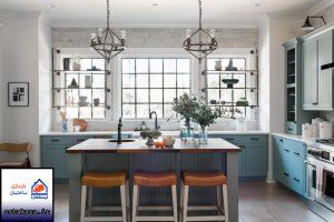 اشپزخانه رنگین