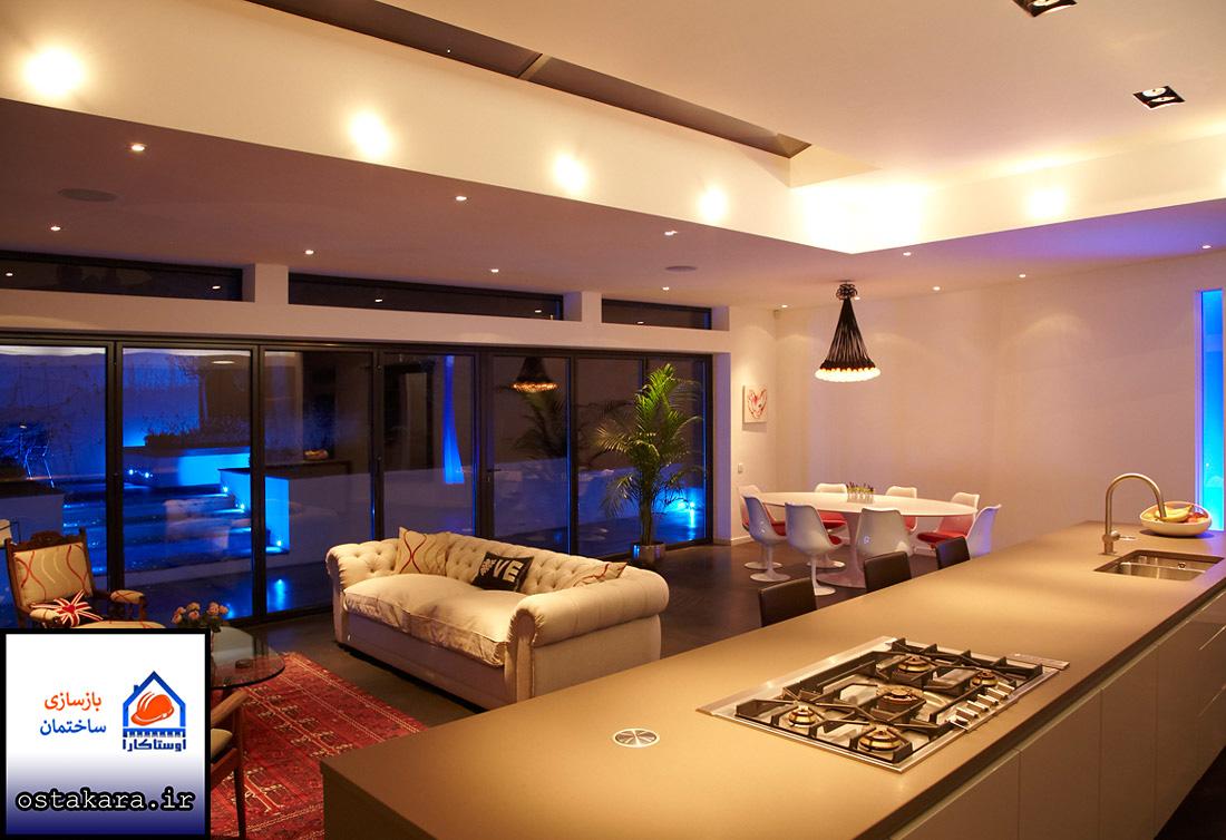 اصل نورپردازی در منزل ها