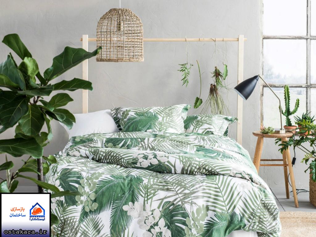 اتاق خواب های زیبا به روش نواحی گرمسيری