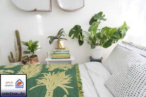 اتاق خواب های زیبا به روش نواحی گرمسیری