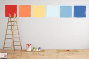 نکاتی درباره رنگ امیزی دیوارهای منزلتان