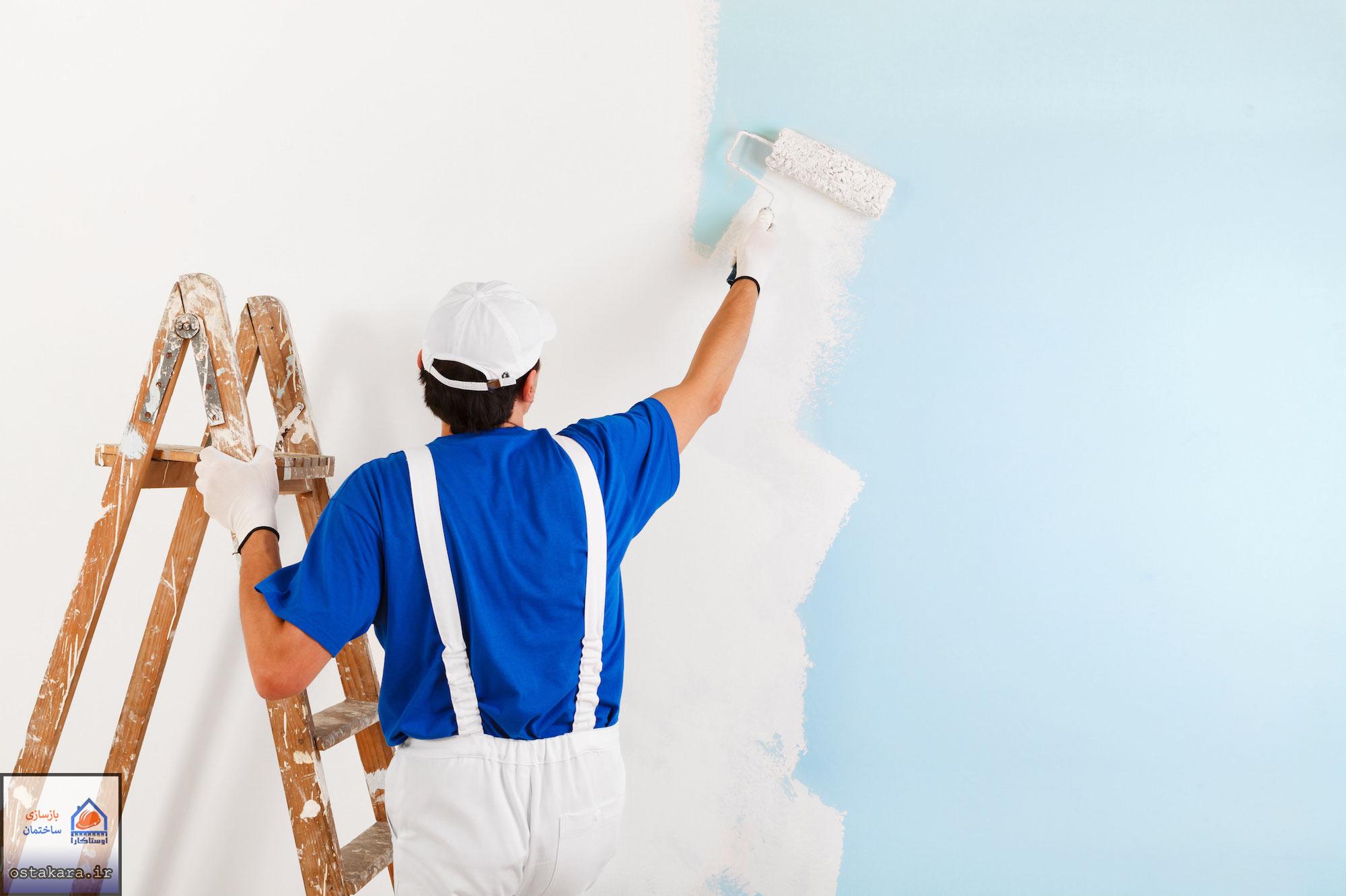 نکاتی درباره رنگ امیزی ديوارهای منزلتان