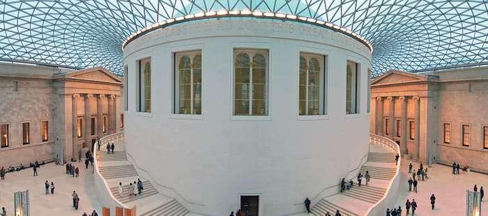 دادگاه عالی ، طراحی شده توسط فاستر و شرکا ، 2000؛ در موزه بریتانیا ، لندن.