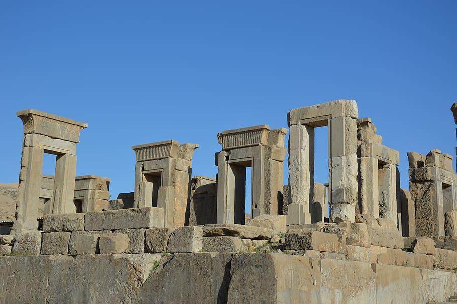 باستان شناسی معماری و فرهنگ تخت جمشید - شیراز - ایران