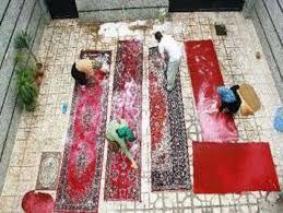 شستن قالی