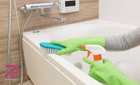 تمیز کردن حمام