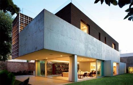 مسطح بودن سقف ها در معمعری مدرن