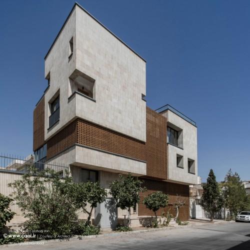 یک طراحی ساده درباره معماری مدرن