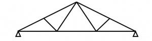 خرپای Fink truss