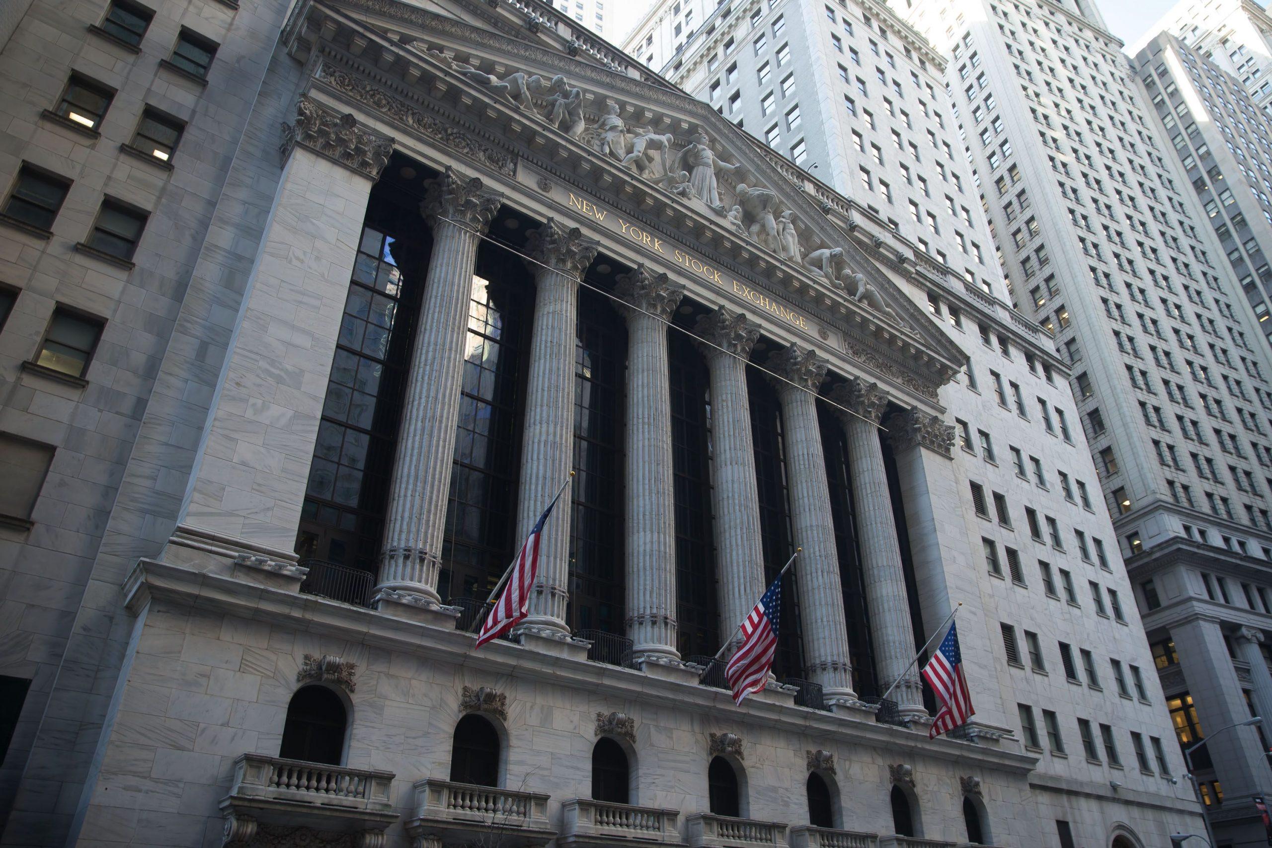 ساختمان بورس اوراق بهادار نیویورک (NYSE)