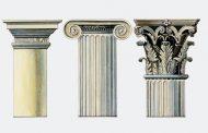 انواع ستون در سبک های متفاوت