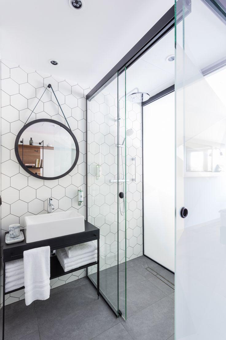 ایده ی جذاب و خلاقانه برای کاشی کاری حمام