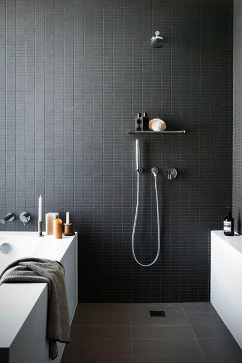 استفاده از کاشی کاری مات در حمام - اوستاکارا