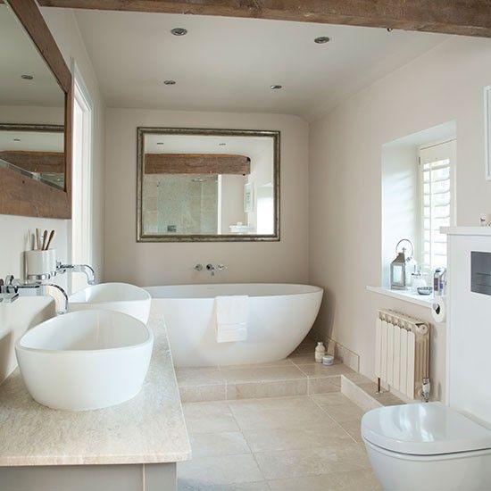 استفاده از سنگ طبیعی در کاشی کاری حمام - اوستاکارا