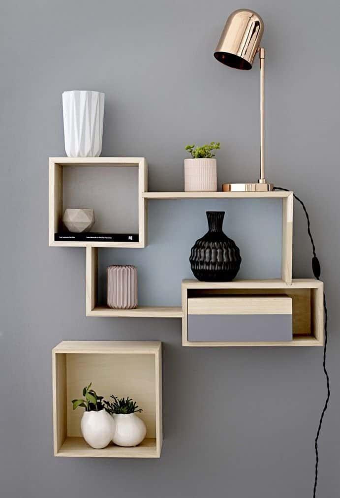 زیباترین روش های قفسه بندی برای فضاهای مختلف